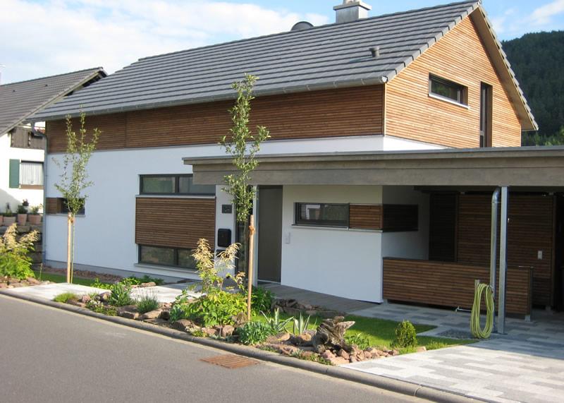 Moderne holzhäuser österreich  Haus Sandweg