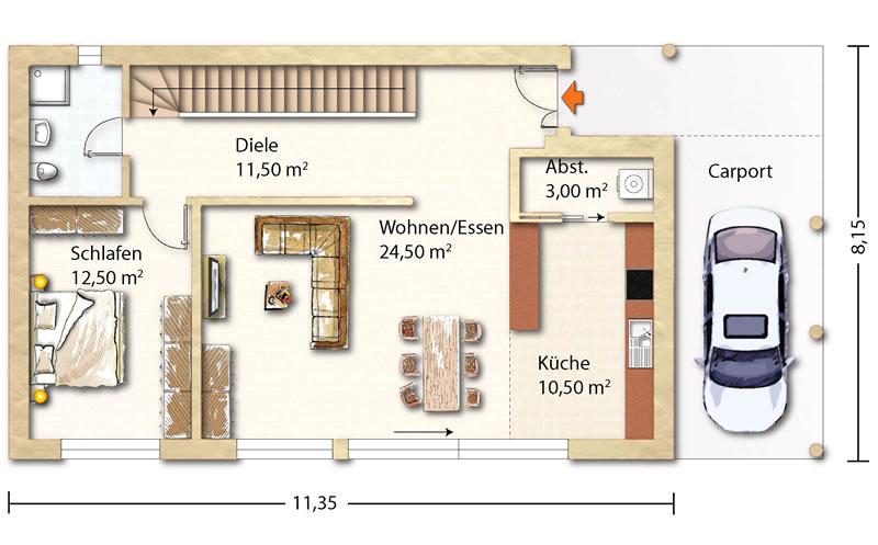 Rosskopf Holzhaus tessin